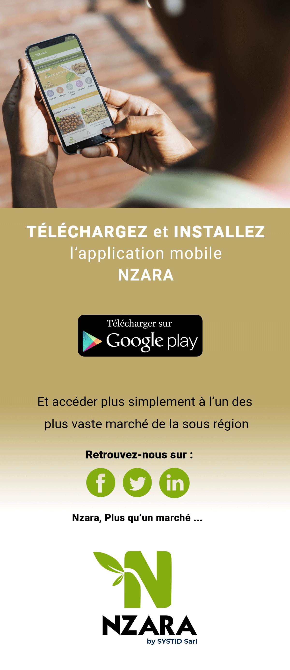 Nzara mobile app