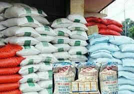 Stock de 190 Sac de riz