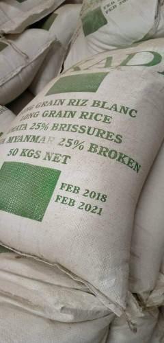 Sucre et riz à partir de 1000 tonnes