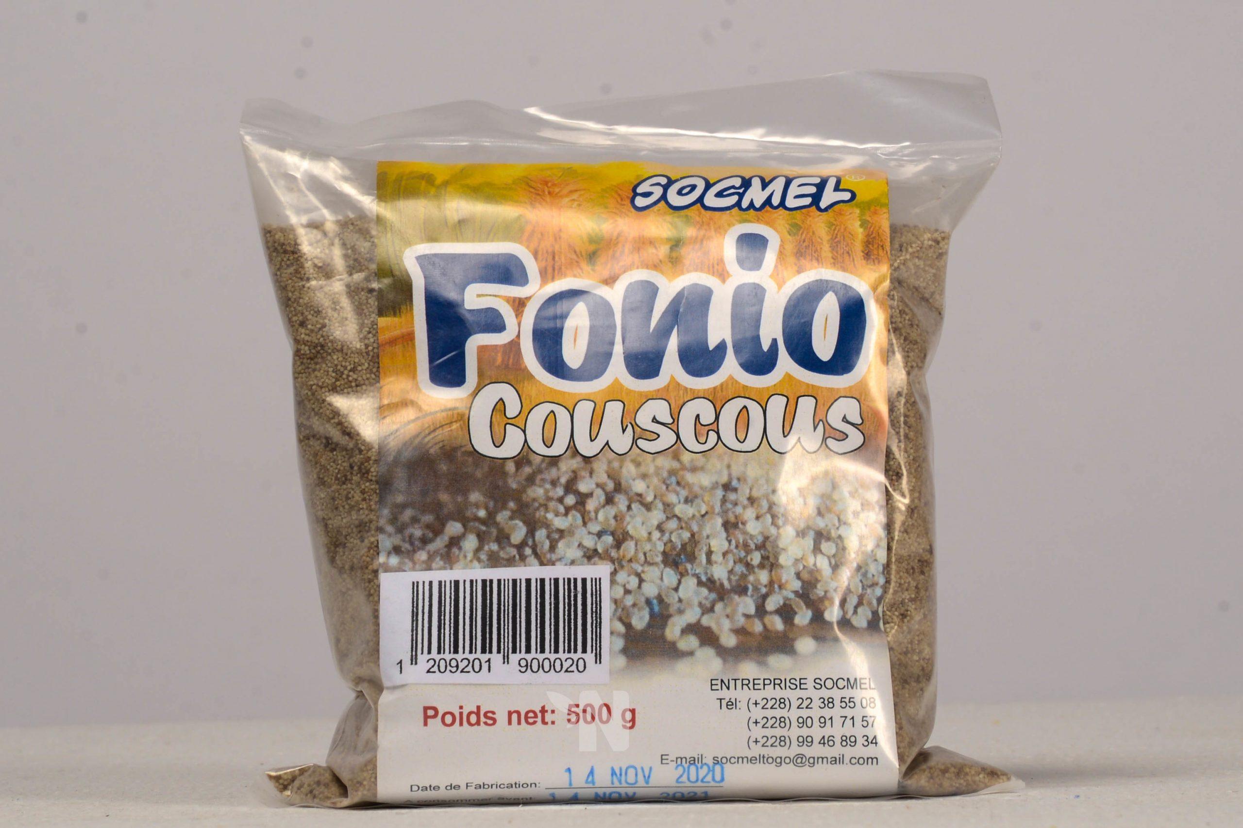 Fonio couscous Socmel