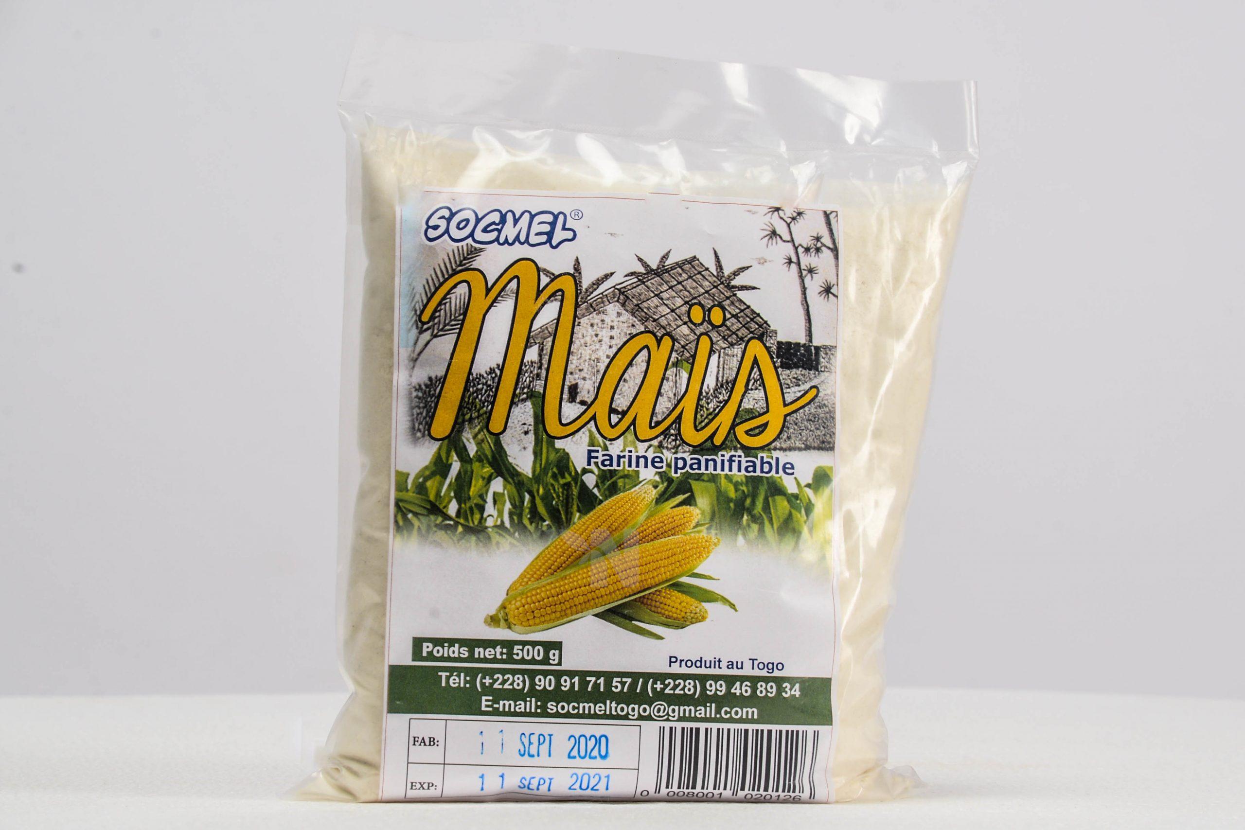 Farine panifiable de maïs Socmel