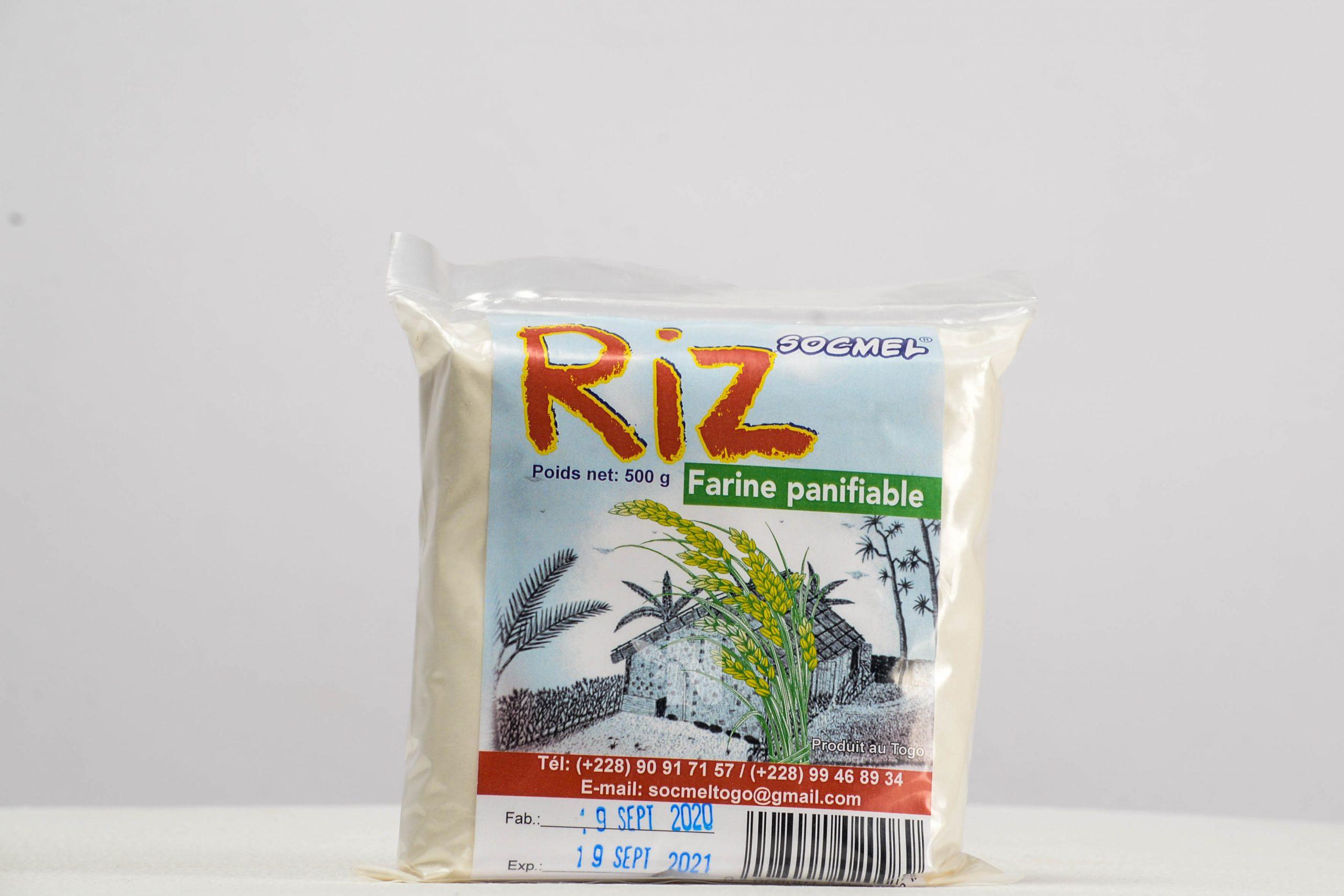Farine panifiable de riz Socmel