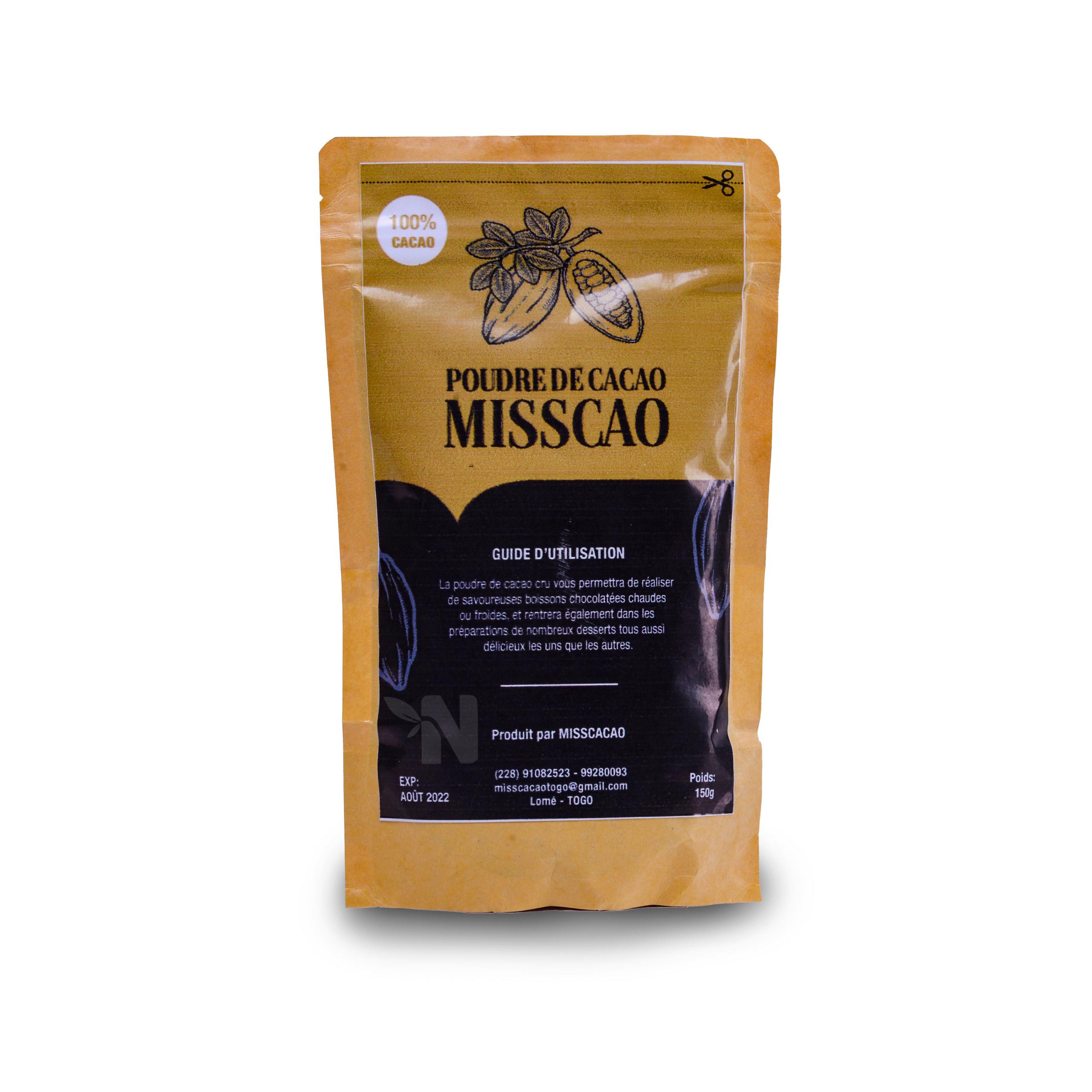 Poudre de cacao MISS CAO