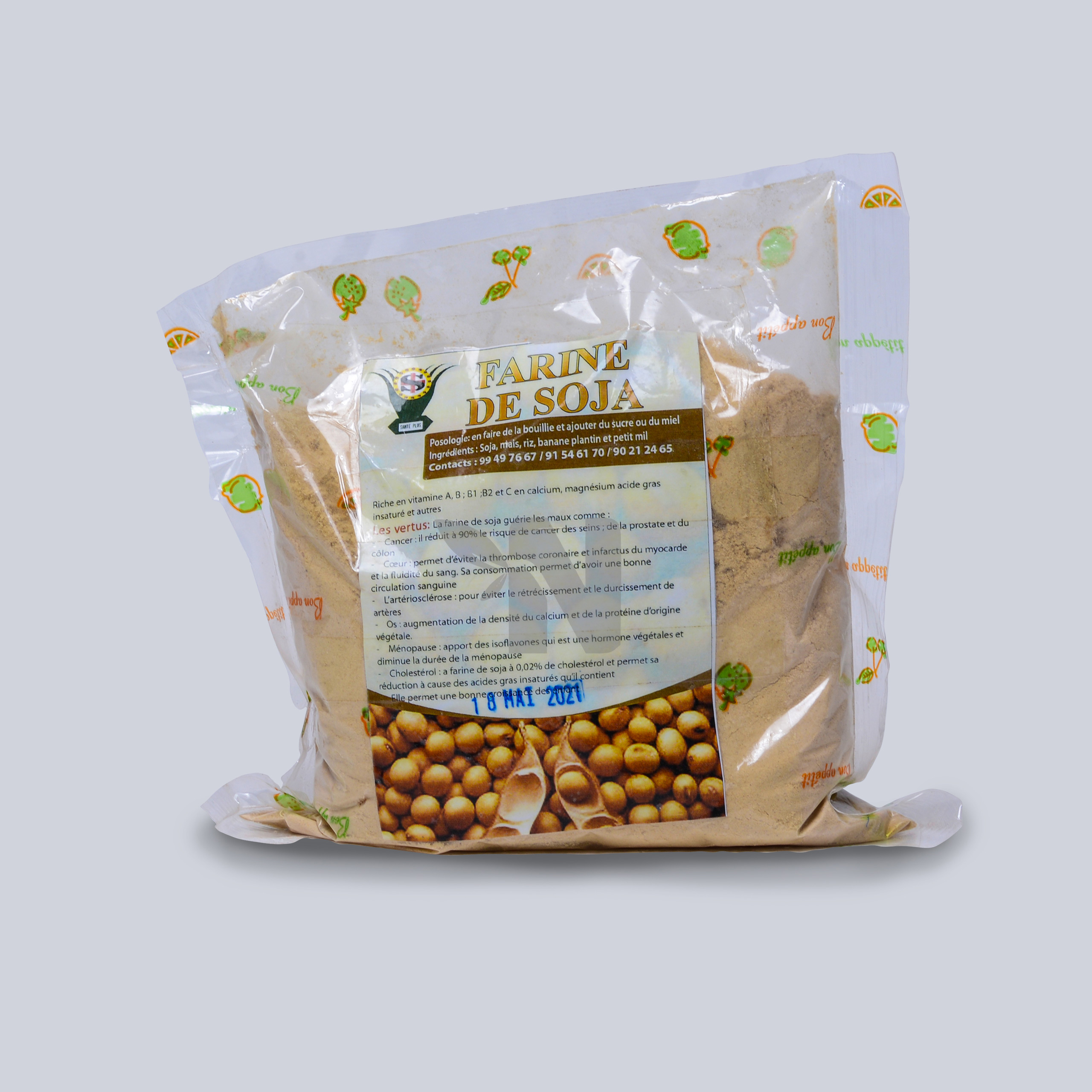 Farine de soja Santé Plus