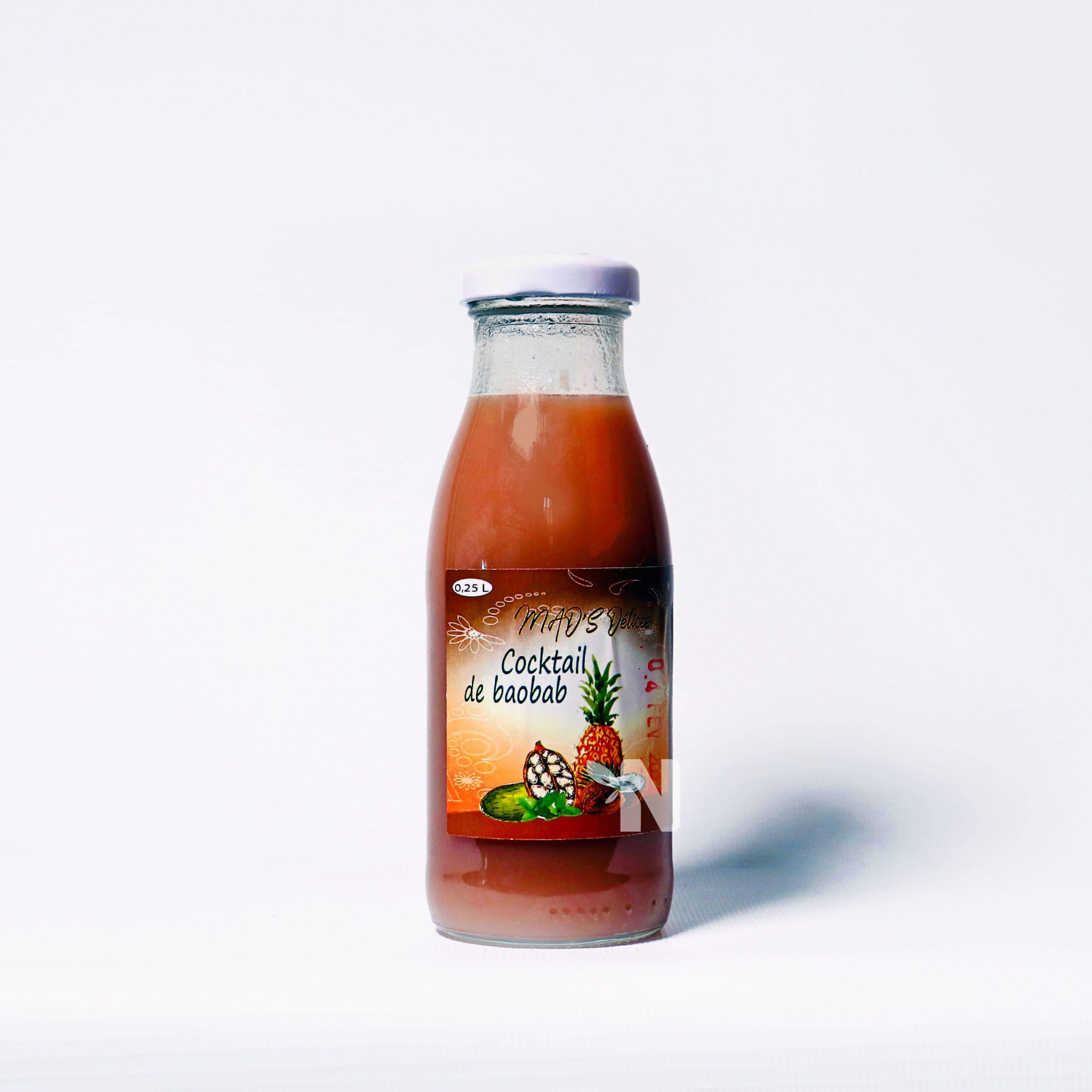 Cocktail de baobab Mad's Délices