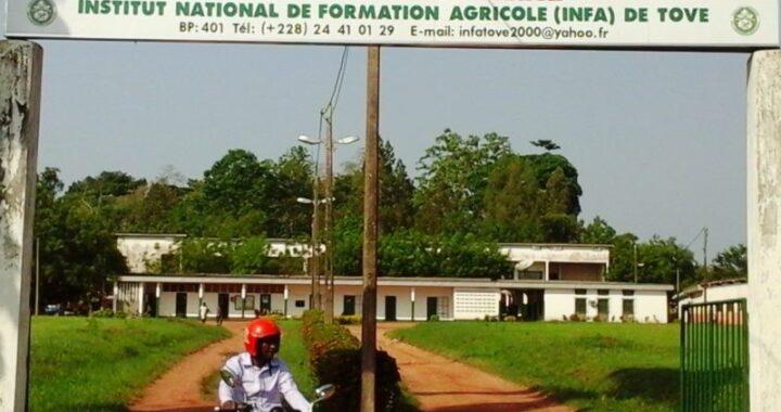 Togo : Concours d'entrée à l'INFA de Tové, les candidatures sont ouvertes!