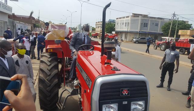 Togo: Tracteurs en panne, les raisons