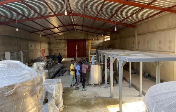 Togo : Une usine de transformation de manioc en cours d'installation